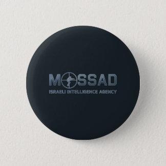 Mossad - Israeli Intelligence Agency - Scope 6 Cm Round Badge
