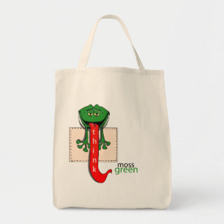 MOSSGREEN FROG GROCERY TOTE GROCERY TOTE BAG