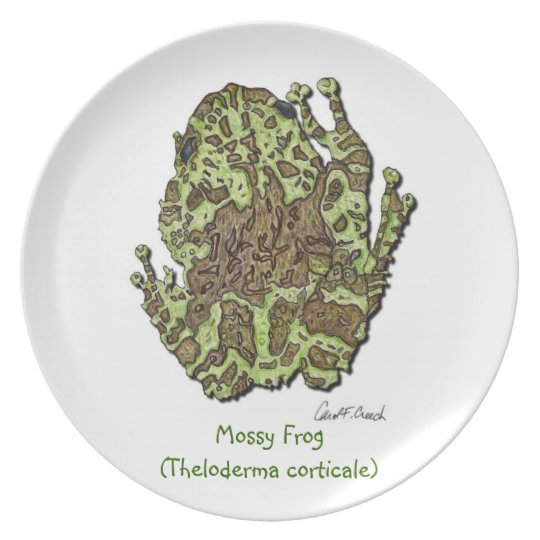 Mossy Frog Plate