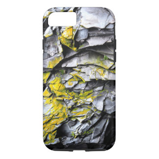 Mossy grey rocks photo iPhone 8/7 case