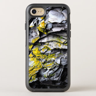 Mossy grey rocks photo OtterBox symmetry iPhone 8/7 case