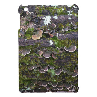 mossy mushroom fun iPad mini case