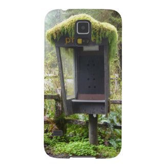 Mossy Phone Booth Galaxy S5 Cover