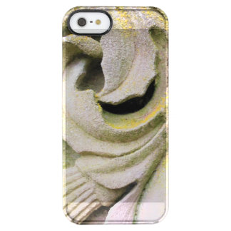 Mossy Stone Leaves Clear iPhone SE/5/5s Case