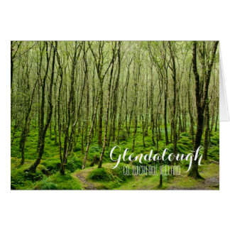 Mossy Trees in Glendalough Card
