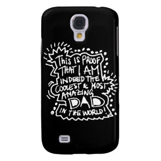 Most Amazing Dad 2 Galaxy S4 Cover