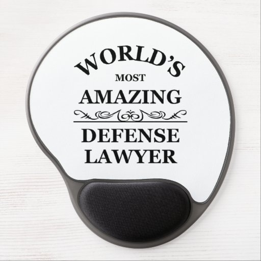 Most amazing defense lawyer gel mouse mat