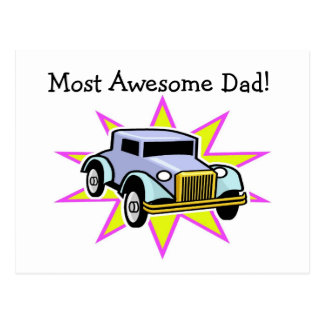 Most Awesome Dad! - Postcard