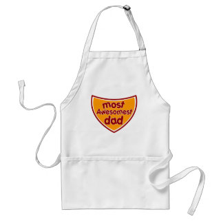 Most Awesomest Dad Apron