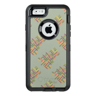 Most Common Elements Word Cloud Chemistry OtterBox iPhone 6/6s Case