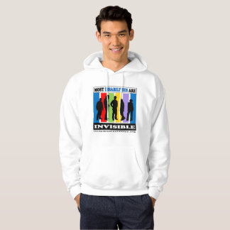 Most Disabilities Are Invisible - Hoodie