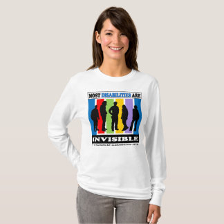 Most Disabilities Are Invisible - LS Shirt