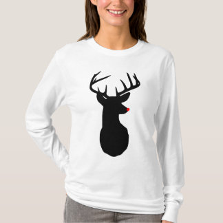 Most Famous Reindeer of All Long Sleeved T-Shirt