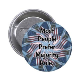 Most people prefer Majority Rule Button