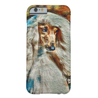 Most Popular Afghan Hound Oil Portrait Barely There iPhone 6 Case