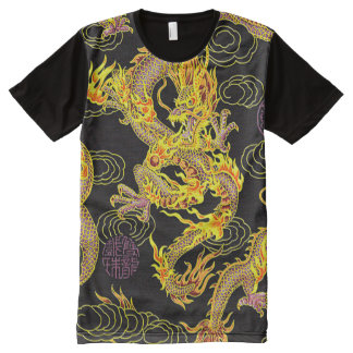 Most Popular Chinese Dragon Neo Art All-Over Print T-Shirt
