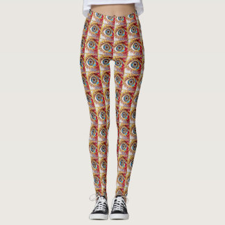 Most Popular Colorful Eye Pattern Leggings