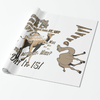 Most Popular Hump Day Camel Wrapping Paper