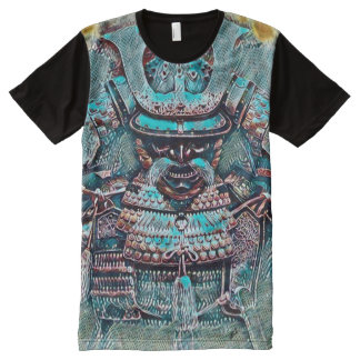 Most Popular Samurai Shogun Pop Art All-Over Print T-Shirt
