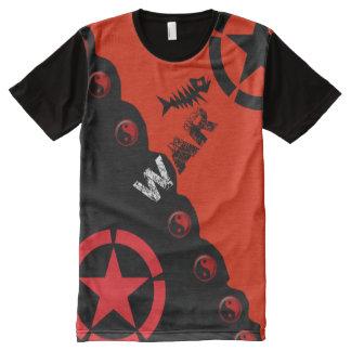 Most Popular War Yin Yang Street Style All-Over Print T-Shirt