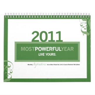 """Most Powerful """"Year"""" 2011 Calendar"""