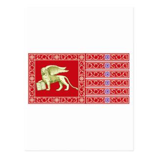 Most Serene Republic of Venice Flag Postcard