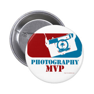 Most Valuable Photographer 6 Cm Round Badge