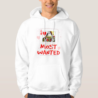 MOST WANTED LOVE Men's Basic Hooded Sweatshirt 2