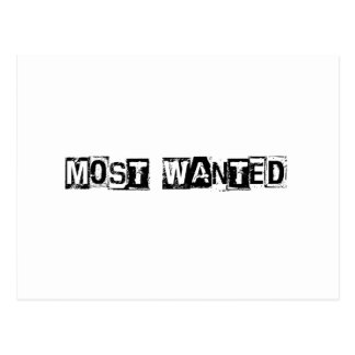 Most Wanted Postcard