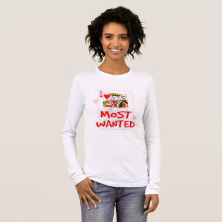 MOST WANTED Women's Bella+Canvas Long Sleeve T-Shi Long Sleeve T-Shirt