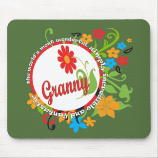 Most Wonderful Simply Incredible Fantastic Granny Mouse Pad