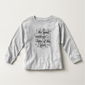 Most Wonderful Time of the Year | Long Sleeve Toddler T-Shirt