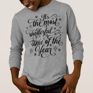 Most Wonderful Time of the Year Long Sleeves Shirt