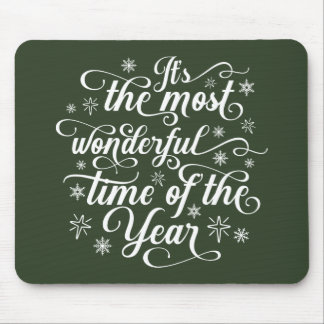 Most Wonderful Time of the Year | Mousepad
