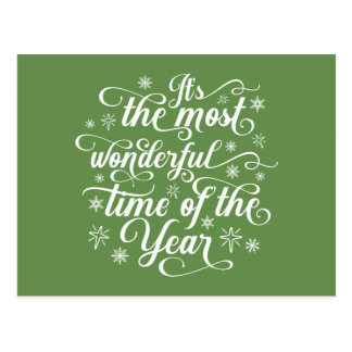 Most Wonderful Time of the Year | Postcard