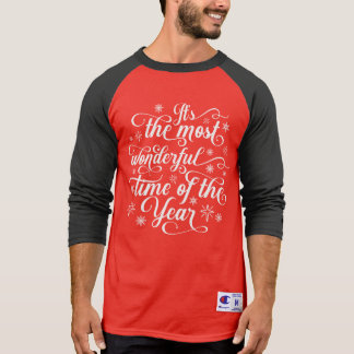 Most Wonderful Time of the Year | Raglan Shirt