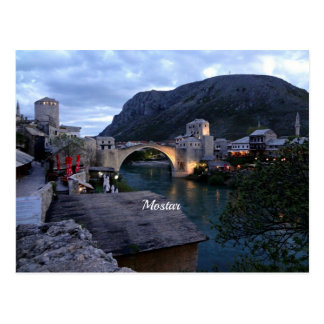 Mostar, Bosnia and Herzegovina Postcard