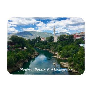 Mostar Bosnia & Herzegovina Magnet with writing