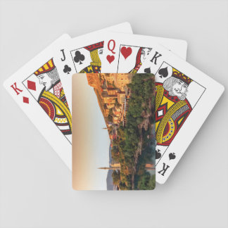 Mostar old city, Bosnia and Herzegovina Playing Cards