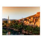 Mostar old city, Bosnia and Herzegovina Postcard
