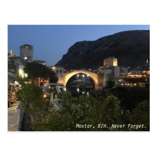 Mostar Postcard
