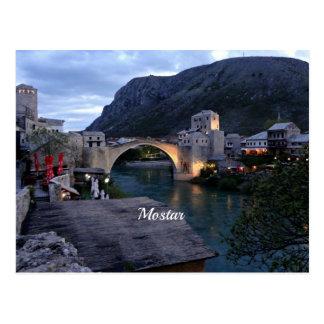 Mostar scenic photograph postcard