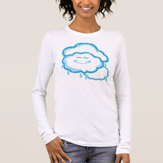 Mostly Cloudy Long Sleeve T-Shirt