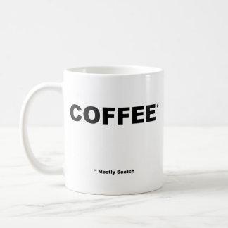 Mostly Scotch Coffe Mug