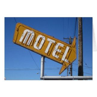 Motel Card