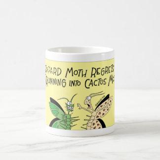 Moth and the catus moth coffee mug