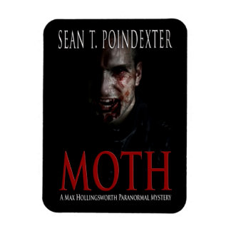 Moth Designer Magnet