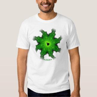 Moth Mandelbrot fractal white tee