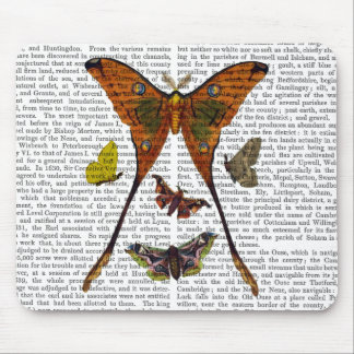 Moth Plate 2 Mouse Pad