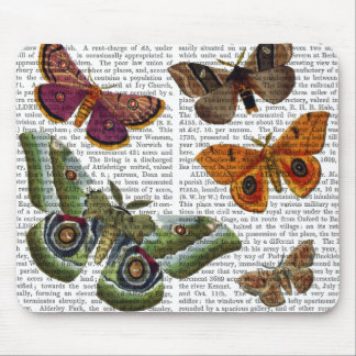 Moth Plate 3 Mouse Pad